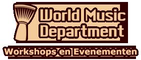 World Music Department logo
